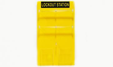 Lockout Station for 20 Padlocks